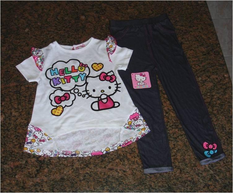 2fead6ef34f Ropa De Niña Hello Kitty Talla 4 Marca Sario - Bs. 0