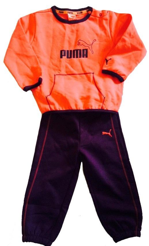 ropa de nios conjuntos deportivo camisa puma original