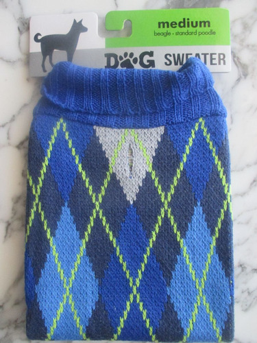 ropa de perros chompa sweater de lana talla medium beagle