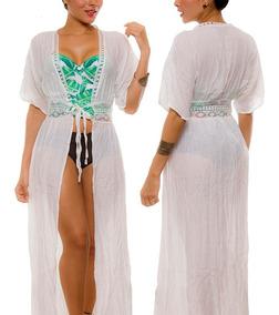 0e083ebaf1db Ropa De Playa Salidas Baño Vestidos Kimonos Pareo Praie 2039
