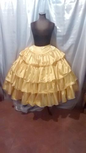 ropa de religion de umbanda -santo-nacion pollera