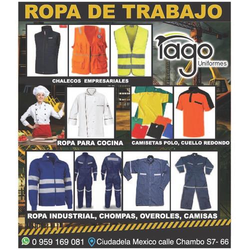 ropa de trabajo y uniformes empresariales