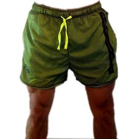 e88f1625 Short Deportivo Hombre Running - Ropa y Accesorios Verde en Mercado ...