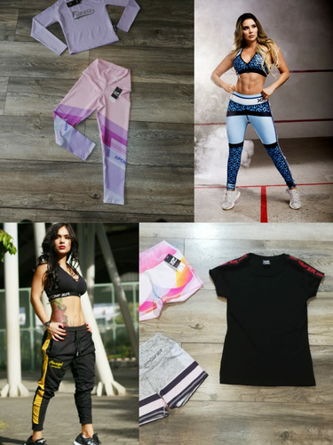 ropa deportiva colombiana xpower licras hoodie jogger gym
