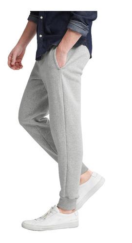 ropa deportiva hombre pants jogger cintura elástica gris gap