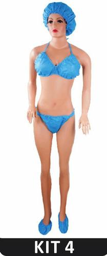 ropa desechable top y panty spa parejas estética 60 gr promo