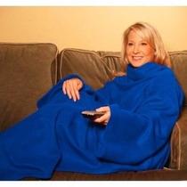 Manta Polar De Algodon Con Mangas Snuggle Invierno Calido Tv