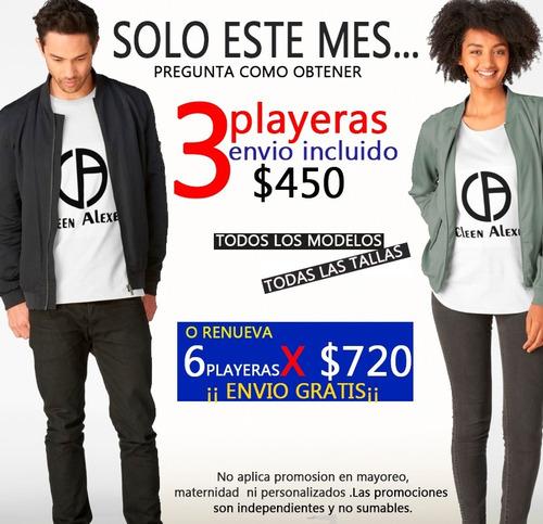 ropa hombre playeras