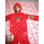 Disfraz Iron Man Fiesta Para Niños 4 A 6años Nido Colegio