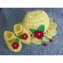 Sombreritos Para Bebe Tejido A Mano A Crochet