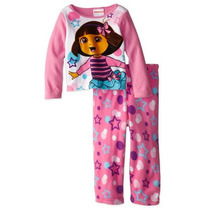Pijama De Dora La Exploradora Talla 3 Años Importado