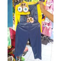 Disfraz Minions Mi Villano Favorito Niño Calabaza Minions