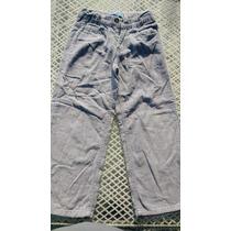 Pantalon Corduroy Niño Marca Skidz Talla 6 Color Acero