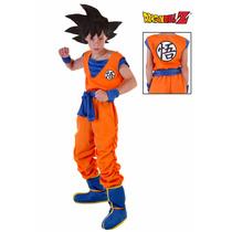 Disfraz Disfraces Goku Dragon Ball Máscara Halloween Niños