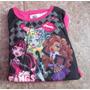 Pijama Para Nina High Monster Talla 6 Importado De U. S. A.