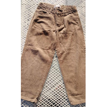 Pantalon Corduroy Niño Marca Harvest Talla 6l Color Arena