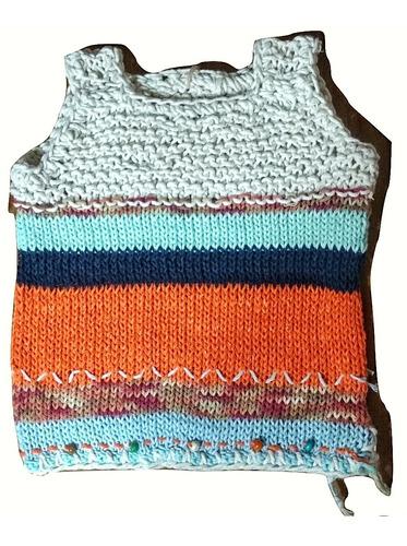 ropa infantil de bebé/niños chaleco tejidos hippie nuevo