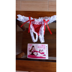 58222ffec9 Hilo Dental Rojo Ropa Femenina - Ropa Interior Mujer en Mercado ...