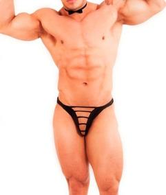 Ropa Interior Para Hombre Sexy Tanga Tipo T Con Tiras Al Frente Tela Ajustable Y Suave Atrevete Ta52