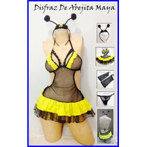 Disfraz Sexy De Abejita Malla
