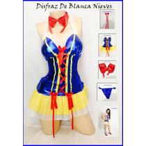 Disfraz Sexy De Blanca Nieve