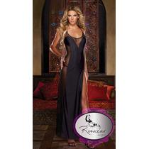 Vestidos Largos De Lycra,latex ,puntilla,tallas Stock