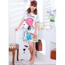 Camison Lenceria Pijama Snoopy Ropa De Dormir Mujer Dama