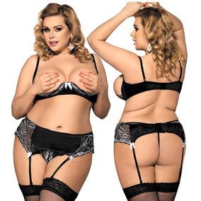 261b6c950 Conjunto Sexy Encaje 2 Pc Ropa Interior Femenina Sensual - Ropa ...