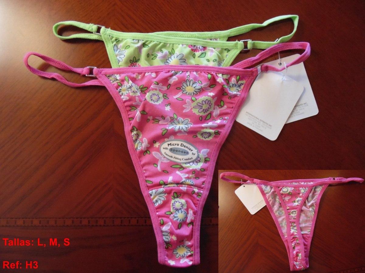 Ropa intima de dama panty y semi hilo tallas s m oferta for Ofertas de ropa interior