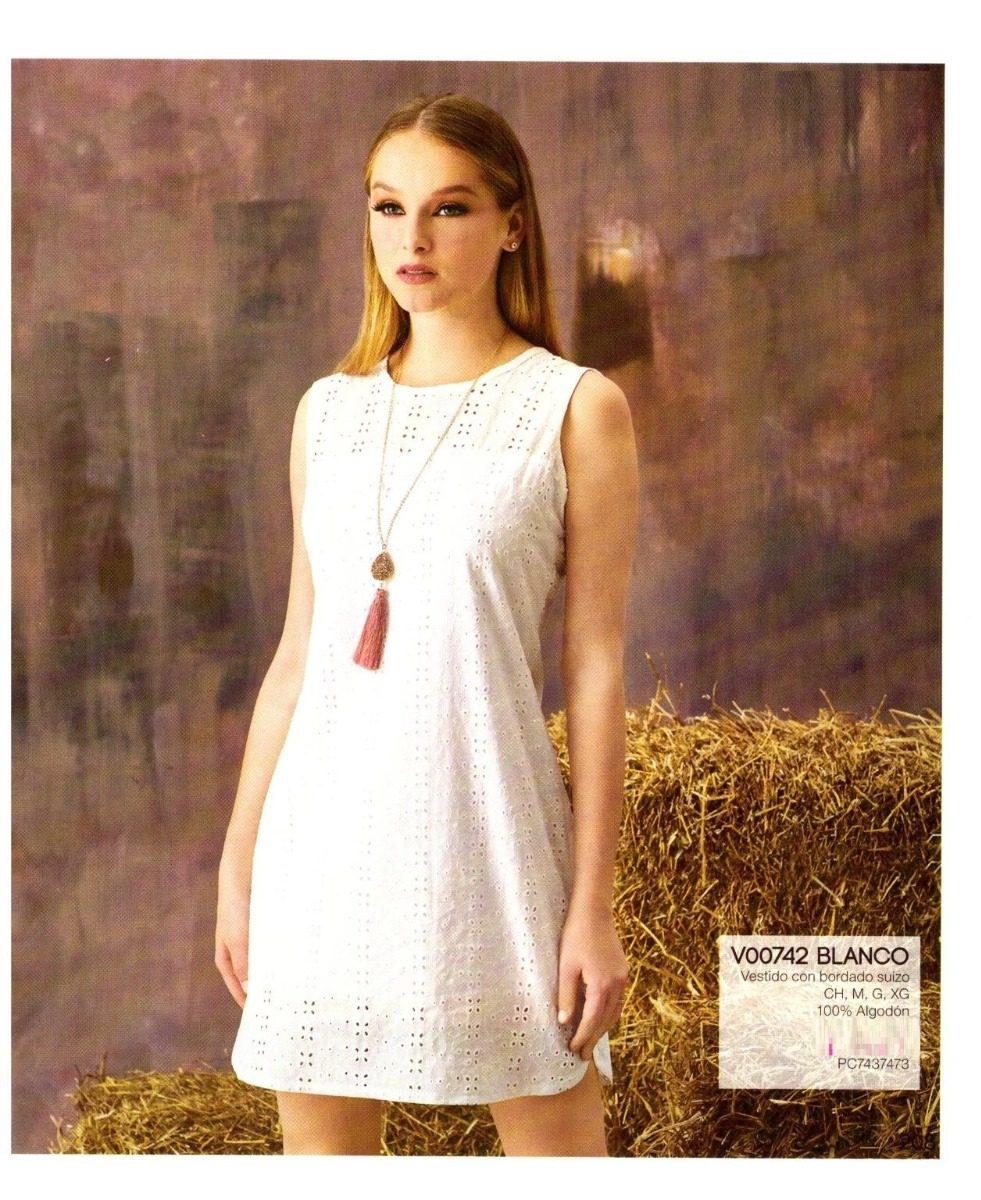 Vestidos cortos algodon mujer