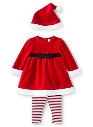 51dacf85408 Ropa Navidad Bebe Niña Vestido Santa Claus Ultima Pieza -   850.00 ...