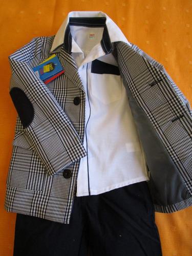 ropa  niño  3 piezas de 18meses a 10 años. es moda, vestidor