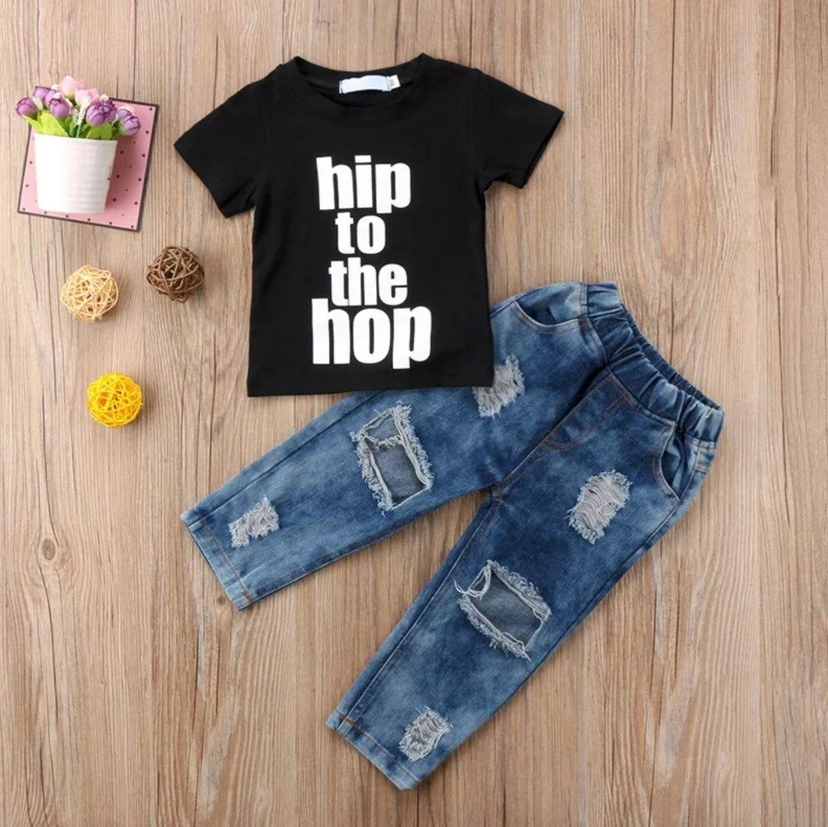 e46b4babdcc3e ropa para niño conjunto jean + camiseta a la moda · ropa niño camiseta.  Cargando zoom.