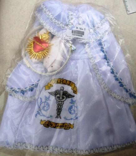 ropa niño dios dr de gala 25cm  dia calendaria tamales