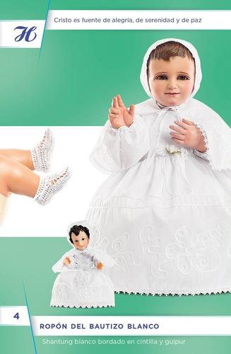 ropa niño dios ropon bautizo blanco