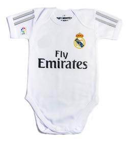 nueva especiales gran inventario entrega rápida Ropa Para Bebe Bodie Bodi Real Madrid Para Bebe Mameluco