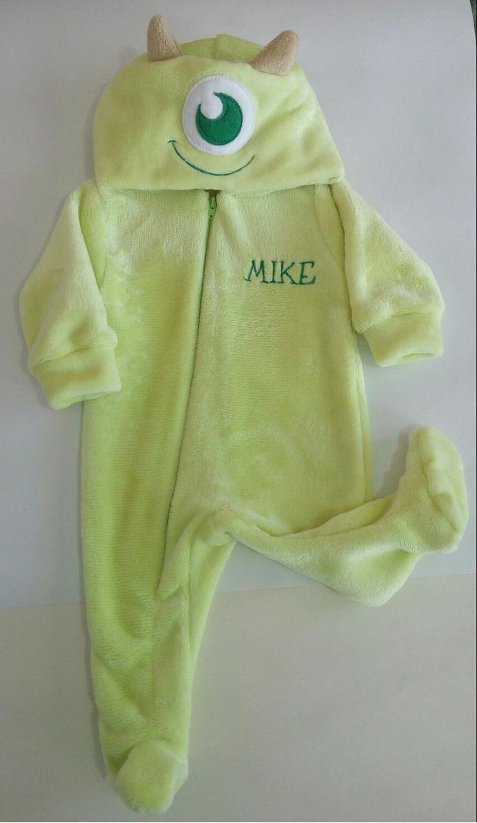 Ropa Para Bebé Mameluco Mike De Monster Inc Disney Talla 3m ... 980e18d270fa