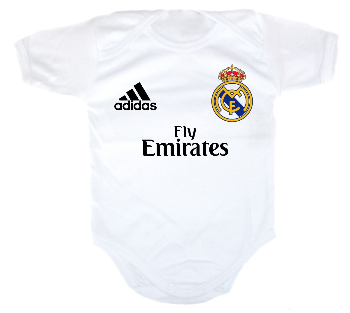 e6475bac9 Ropa Para Bebe - Pañalero De Real Madrid Personalizado - $ 185.00 en ...