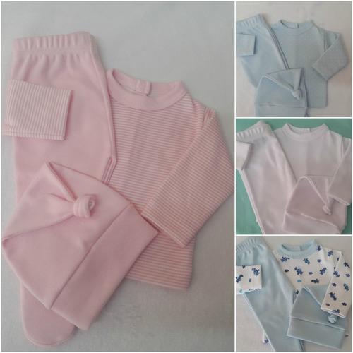 ropa para bebes prematuros en algodón y plush. gran variedad