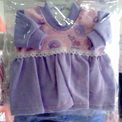 ropa para bebotes 20 cm en thelmus