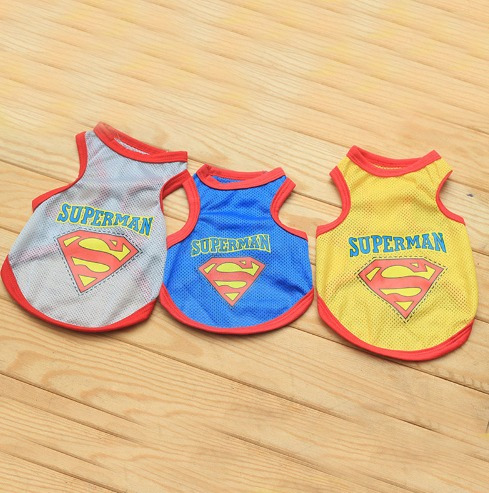 ropa para mascotas! modelos únicos! superman