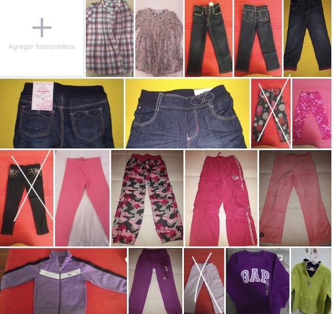 01a42e5f1 Ropa Para Niña Talla 4 - S/ 1,00 en Mercado Libre