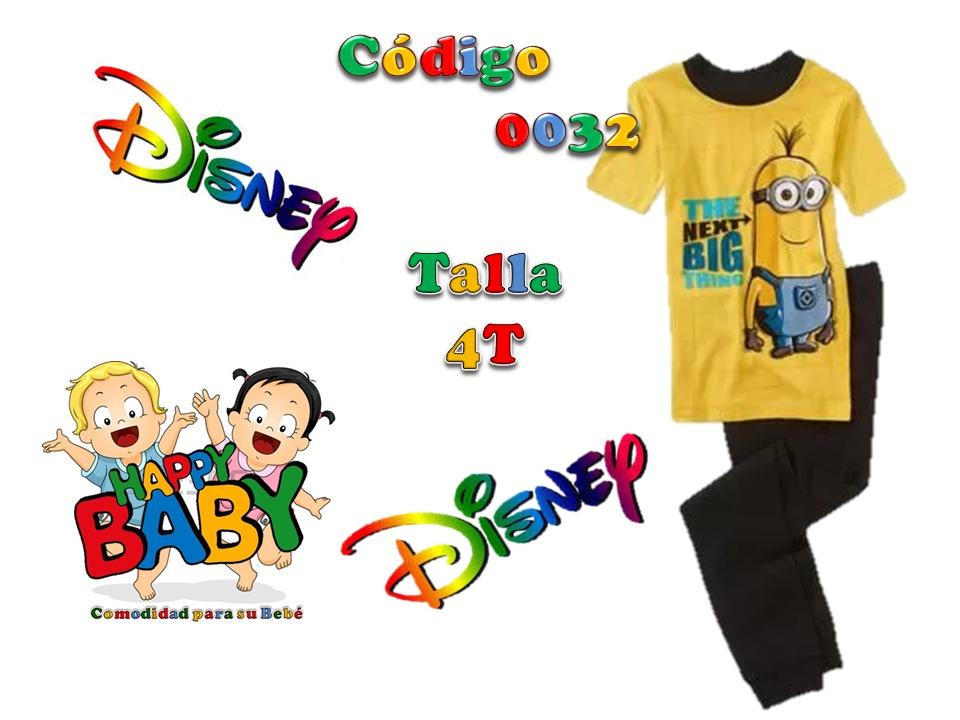 7321f0840e ropa para niño conjunto pijama 2 piezas minions marca disney. Cargando zoom.