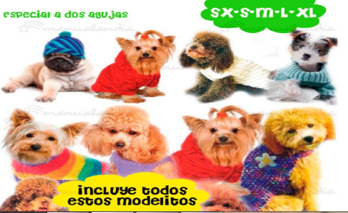 Patrones Ropa Para Perro Temporadas 14, 15, 16 Y 17 - $ 2.700 en ...