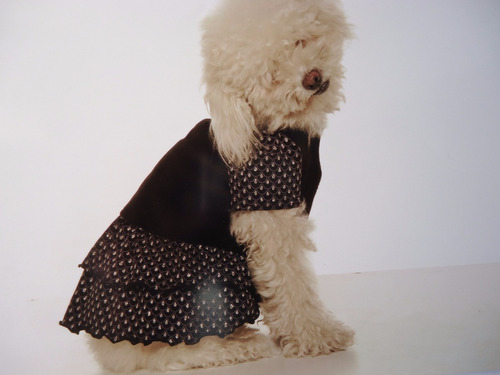 ropa para perros vestido manhathan