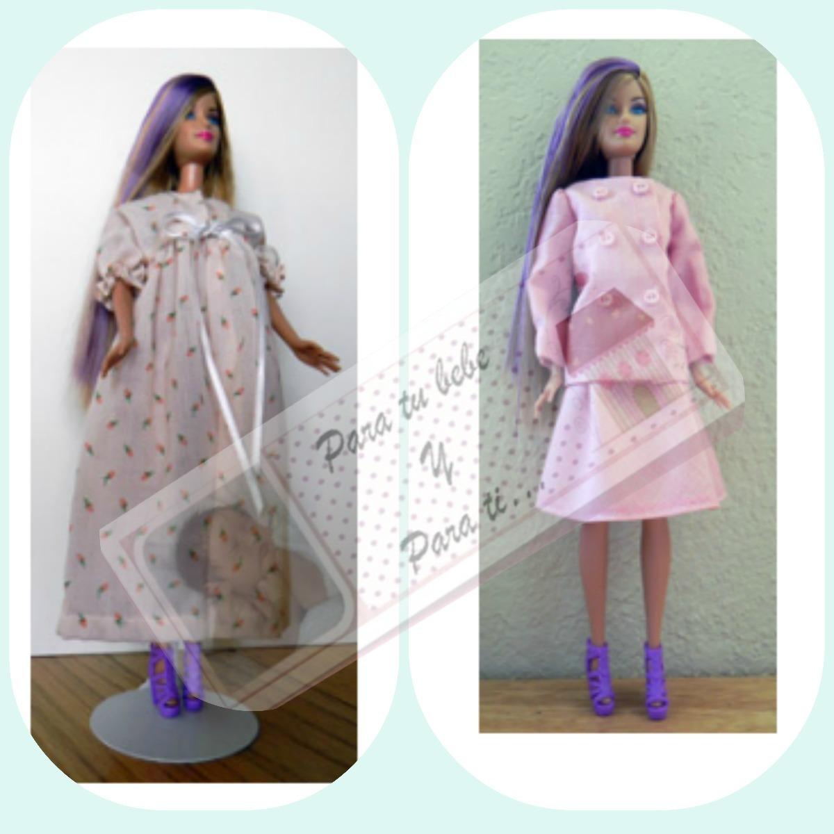 Ropa Patrones Imprimibles Tamaño Real Para Barbie - Bs. 50,00 en ...