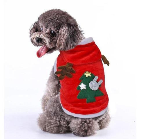 ropa perro de navidad