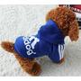 Buso Saco Mascota Adidog Talla L - Color Azul