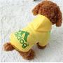 Buso Saco Mascota Adidog Talla S - Color Amarillo