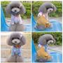 Smoking Para Perro / Mascota Azul Y Cafe